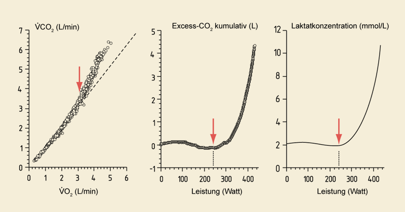 Lactate threshold after Wasserman et al.